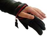 Vaughn Outdoor C-Zip Vader Leather Overcuff Gloves