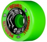 Powell G-bones Skateboard Wheels 64mm/97a Green