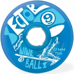 Sector 9 Nine Balls 75A 72mm Blue Wheels