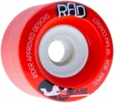 RAD Release Longboard Wheels 80a 72mm