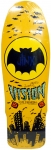 Vision Jinx Mini Skateboard Deck Yellow