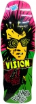 Vision Original Psycho Stick Skateboard Deck Lime