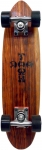Dogtown 1972 Exotic Mahogany Complete Skateboard