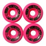 Pig Pink Guttercuts Skateboard Wheels 52mm
