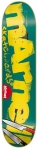 Almost Marnell Logo Cuts Skateboard Deck 8.44