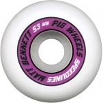 Pig Matt Bennett Pro Speedline Skateboard Wheels 101a/53mm