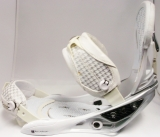 Burton Escapade White Bindings - Medium