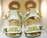 Ride VXN Bindings White Gold Small