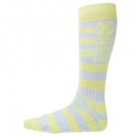 Volcom Stripes Coolmax Socks [Lime]