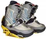 Ride Orion Step-In Boots/Bindings [Grey #3] Men's Size 7