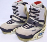 Burton Freestyle Step-In Boot/Binding Combo [Tan #1] Men's Size 6