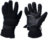 Vaughn Outdoor C-Zip Low Pro Park Gloves - Black