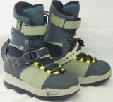 Shimano Skylord Step-In Snowboard Boots [Blue/Grey #15] Men's Size 8.5