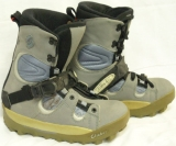 Shimano Half Cap Step-In Boots [Grey #80] Women's Size 10