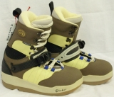 Shimano Enduro 2 Step-In Boots [Yellow/Tan #65] Women's Size 5