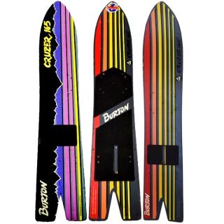 Burton 1986 87 88 Vintage Cruzer 3 Pack Snowboard