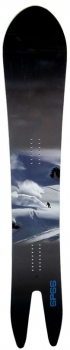 Never Summer Salty Peaks Collaboration Swallowtail Snowboard