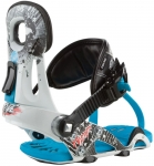 Ride Youth Phenom Contraband Bindings [White]