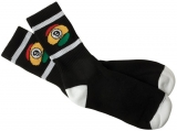 Sector 9 Rasta 9 Ball Socks