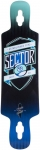 "Sector 9 Sprocket 38.5"" Blue Longboard Deck"