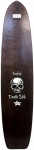"Barfoot Death Stik 44"" Signed Longboard"