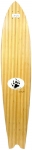 "Barfoot Bamboo Swallow Tail 44"" Signed Longboard"