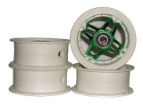 Ground Industries Vegas Mountainboard Hubs with Bearings (set of 4)