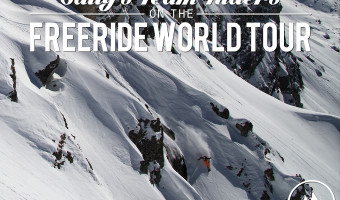 Salty Peaks Snowboard Team Competes in 2014 Freeride World Tour