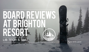 Lib Tech Gnu Snowboards Review Brighton Resort