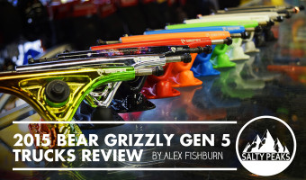 Salty Peaks Review Bear Grizzly Gen 5 Longboard Trucks