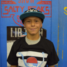 Mason Webb Salty Peaks Skateboard Team Grom