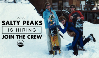 Salty Peaks Snowboard Shop Hiring Floor Sales