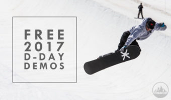 Free D-Day Snowboard Demos at Salty Peaks